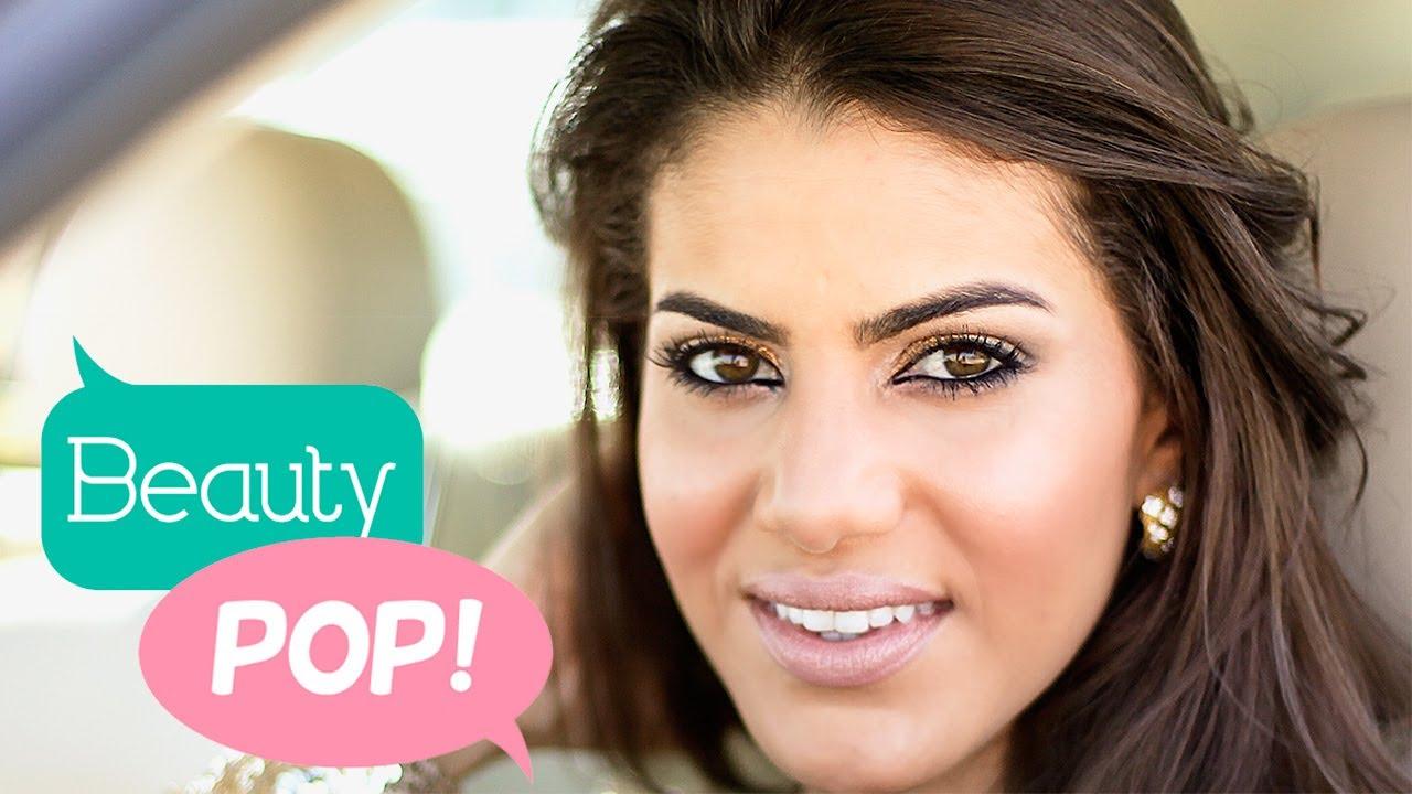 Golden Smokey Eye Tutorial with MakeupByCamila: Beauty Pop!   The Platform