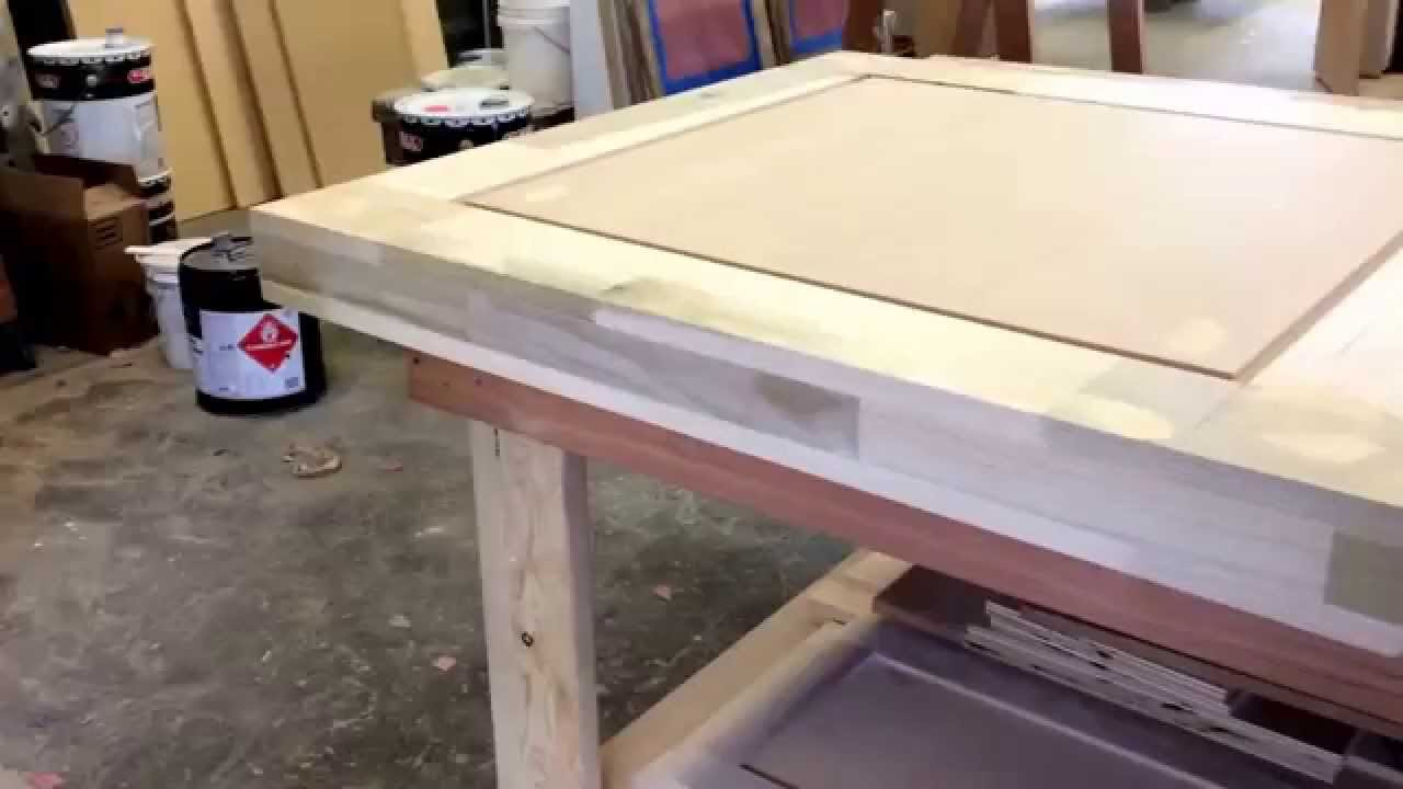 3 0x8 0x3 12 Solid Core Custom Door Youtube