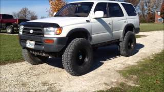 37s on a lifted 3rd gen 4Runner