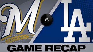 Grandal, Aguilar lead Brewers to 8-5 win - 4/12/19