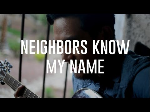 Trey Songz  Neighbors Know My Name   Elmer Abapo; Raw Acoustic Sessions