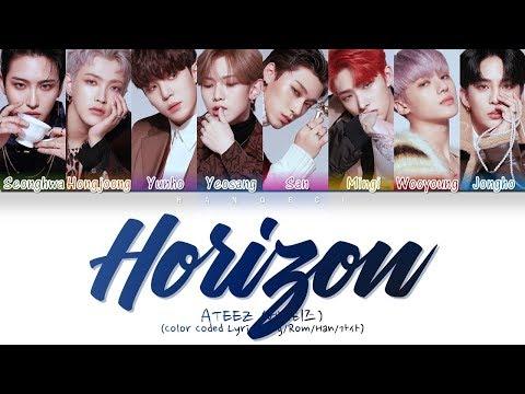 ATEEZ (에이티즈) - Horizon (지평선)  (Color Coded Lyrics/Eng/Rom/Han/가사)