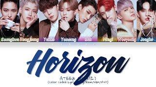 Download ATEEZ (에이티즈) - Horizon (지평선)  (Color Coded Lyrics/Eng/Rom/Han/가사)