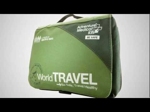 Adventure Medical Kits: World Travel / First Aid Medical Kit - Product Review