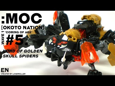 [MOC] Okoto Nation #5 : Lord of Golden Skull Spiders [English]