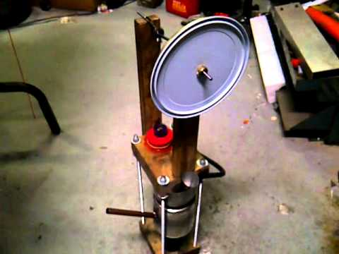 Coke Can Stirling Engine Design