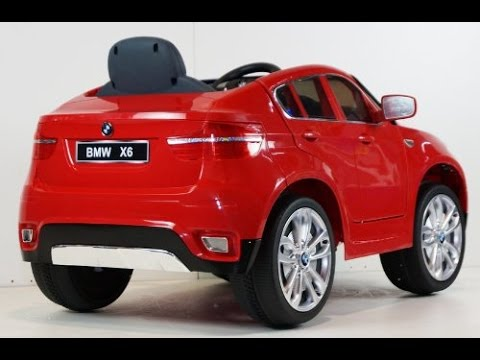 Bmw Exclusive Kids12v Official Bmw X6 Battery Operated Ride On Car
