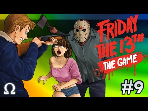 TEABAGGING JASON, BLOODY SLASHER FLICK! | Friday the 13th The Game #9 Ft. Delirious, Bryce +More!