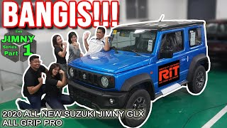2020 Suzuki Jimny Glx 4x4 :  Jimny series part 1 : Interior and exterior