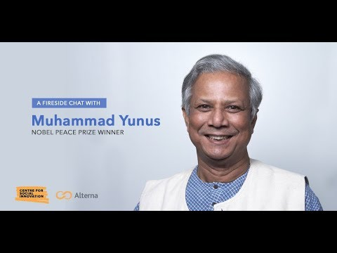 A Fireside Chat with Nobel Peace Prize Winner Muhammad Yunus - round 2