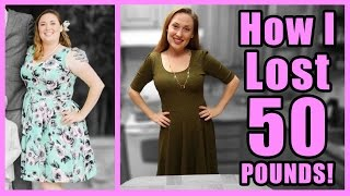 How I lost 50 Pounds in Five Months!