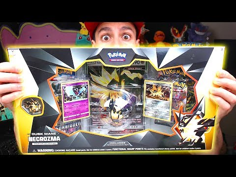 Opening NEW POKEMON Dusk Mane Necrozma Pokemon Cards Box! (early)