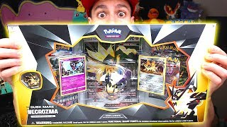 Opening NEW POKEMON Dusk Mane Necrozma Pokemon Cards Box! (early)
