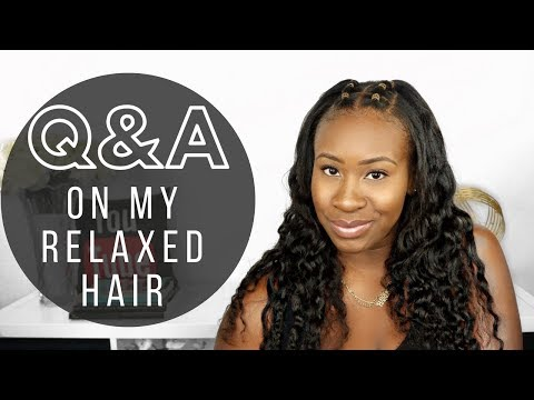 Q&A ON MY RELAXED HAIR | RELAXED HAIR