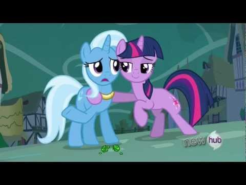 Twilight and Trixie's rematch duel - Entire scene