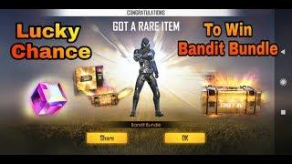 #FreeFire Lucky Chance To Win Bandit Bundle And Magic Cube #HINDI