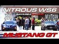 NorCal5150 Nitrous WS6 vs MixTeam Bolt on S550 Mustang