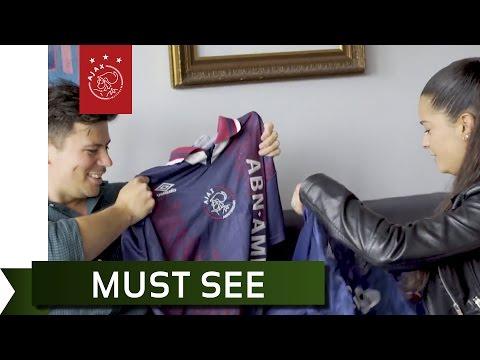 ZiggoCam - Fresia verrast Ajax-fan Arco met reis naar Zweden
