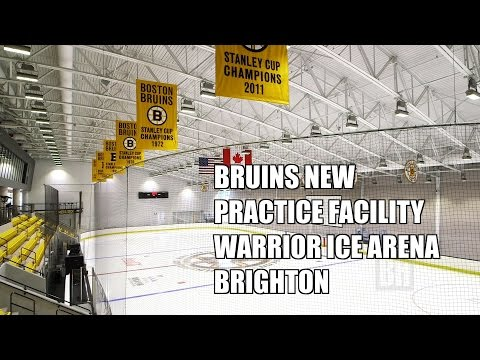 Boston Bruins New Practice Facility Warrior Ice Arena Brighton