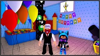 THE STREET BOY MADE A SURPRISE PARTY FOR HIS SON (HISTORINHA AT ROBLOX)
