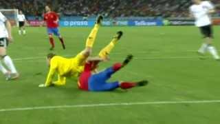 「スペイン x ドイツ」準決勝 W杯2010ハイライト