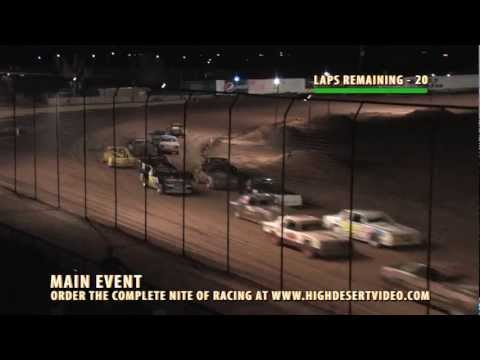 El Paso Speedway Park - Street Stock Main - July 6, 2012