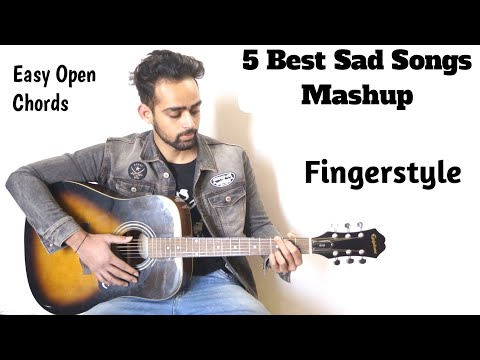 HeartBroken / Sad Songs Mashup | Full Guitar Lesson | Fingerstyle | By Guitar Adda