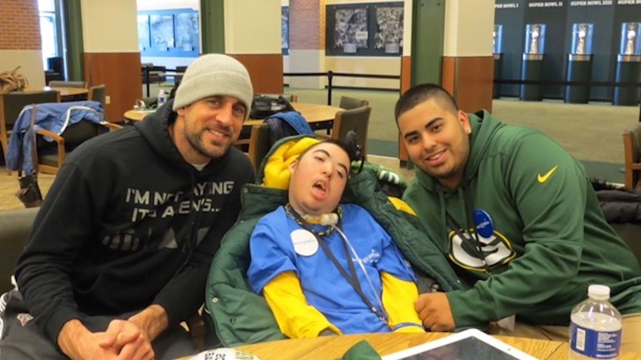 Packers  Make A Wish Foundation grant life long fan s wish   YouTube