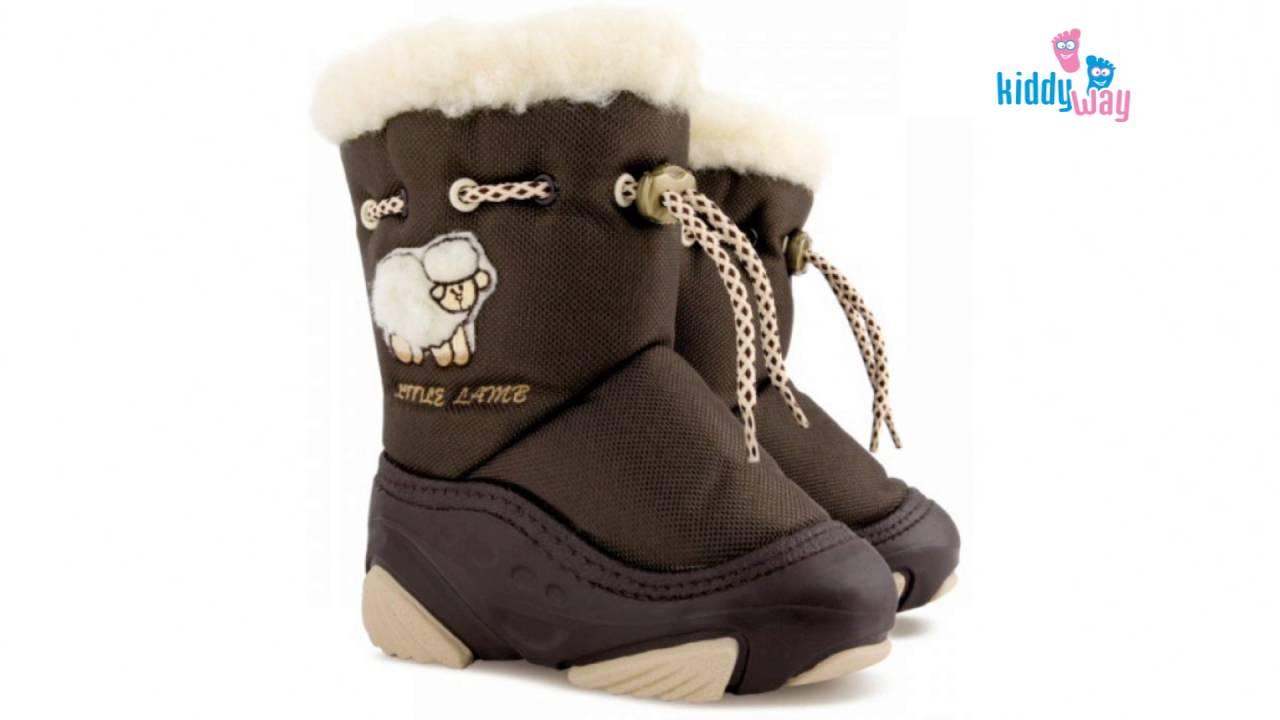 Детские зимние сапоги Demar Baby Sports C,D,E. Видео обзор от .