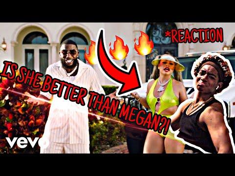 MULATTO - MUWOP (OFFICIAL VIDEO) FT GUCCI MANI REACTION! IS SHE BETTER THAN MEGAN?!