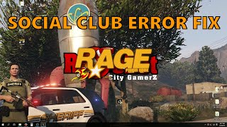 How to Fix the 757 Social Club Update Error for Retail CD Version GTA V for LSPDFR Mod (OUTDATED)