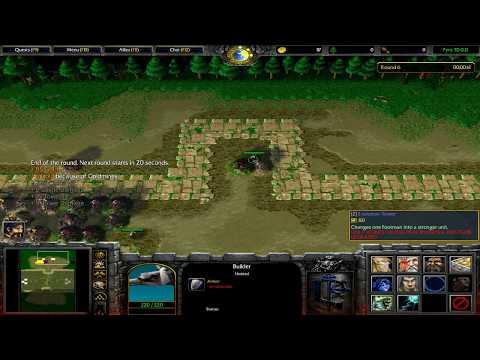 [Warcraft 3] Pyro TD #5 The Captain Crit Meta