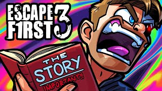 Escape First Funny Moments - The Abandonded School Puzzle!