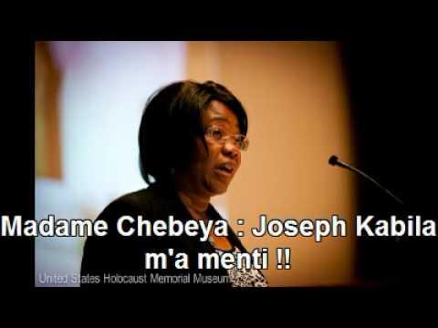 Madame Chebeya : Joseph Kabila m'a menti !!