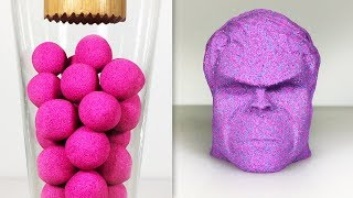 Very Satisfying and Relaxing Compilation 120 Kinetic Sand ASMR