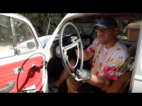 1969 VW Bug Project - Episode 4 - Steering Wheel and Horn
