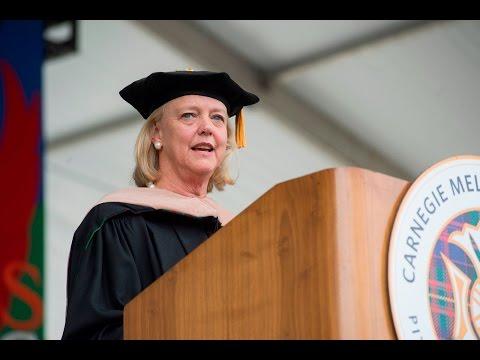 Keynote Speaker Meg Whitman - Commencement 2017