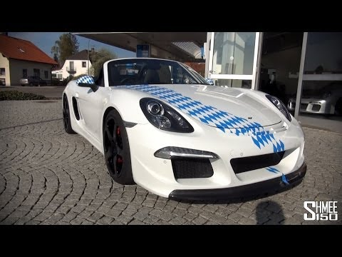 RUF 3800 S  A Boxster with a 911 Engine  Drive and Revs