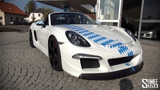 RUF 3800 S - A Boxster with a 911 Engine - Drive and Revs