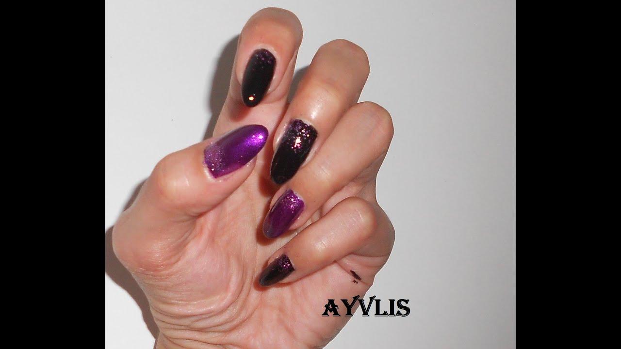 nail art super veloce facile sia x unghie corte che lunghe con