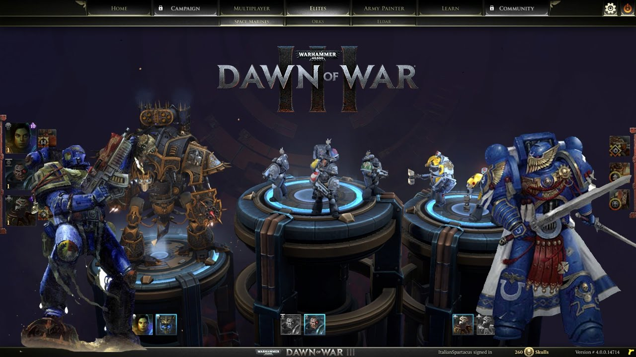dawn of war 3 elites