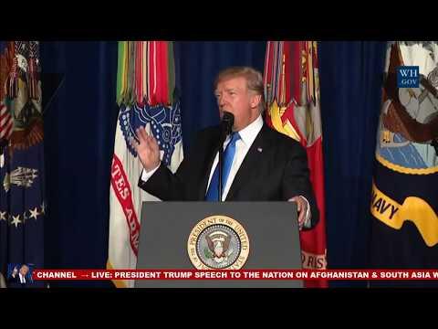 Trump backs off Afghan withdrawal, lambasts Pakistan over terrorist 'safe havens'