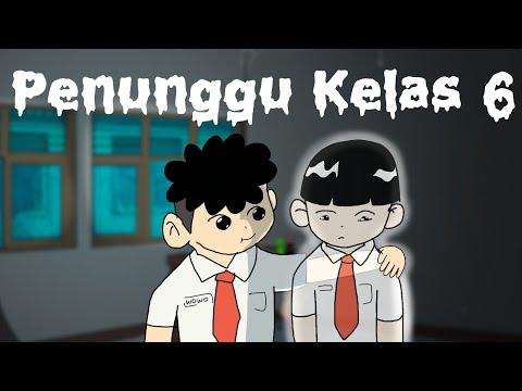 Kartun Lucu - Hantu Penunggu Kelas 6 - Animasi Hantu Horor Indigo Lucu Indonesia - Funny Cartoon