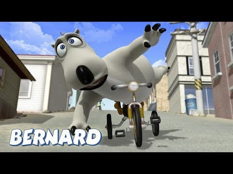 Bernard Bear   The Unicycle AND MORE   30 min Compilation   Cartoons for Children