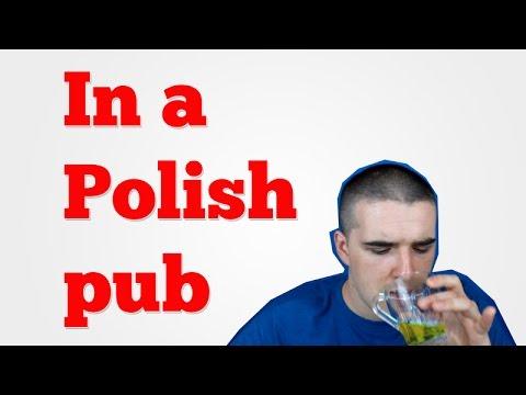 🍺 Polish beer in a Polish pub