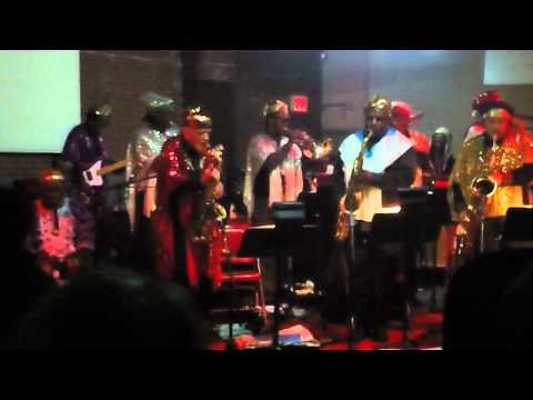 Sun Ra Arkestra - Space is the Place live @ Eyebeam, NYC 2011.mov