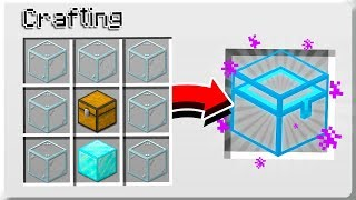 How to UPGRADE CHESTS in Minecraft Tutorial! (Pocket Edition, Xbox, PC, Switch)