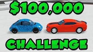 100k Auto Herausforderung in Fahrzeug Simulator w / Seniac!! - Roblox
