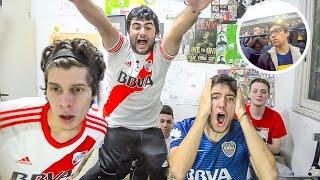 Boca 1 River 3 | Superclásico Torneo Argentino 2017 | Reacciones de amigos