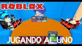 Roblox Playing UNO in Roblocs English ? NicksDaga
